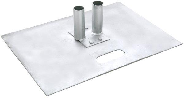 Bodenplatte Bauzaun Mobilzaun Absperrung