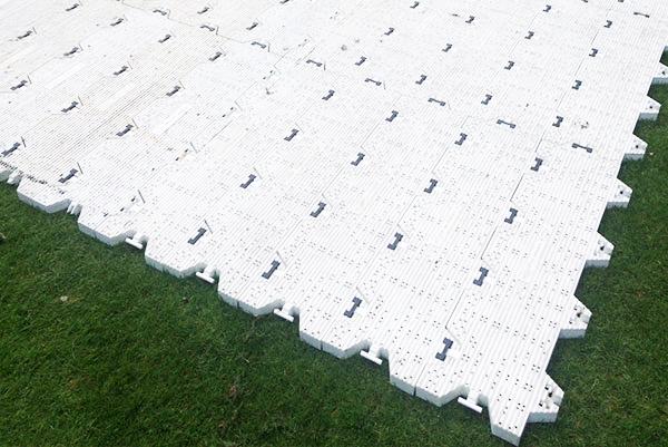 Bodenschutz Supertrac-Flooring Veranstaltung Event Rasenschutz