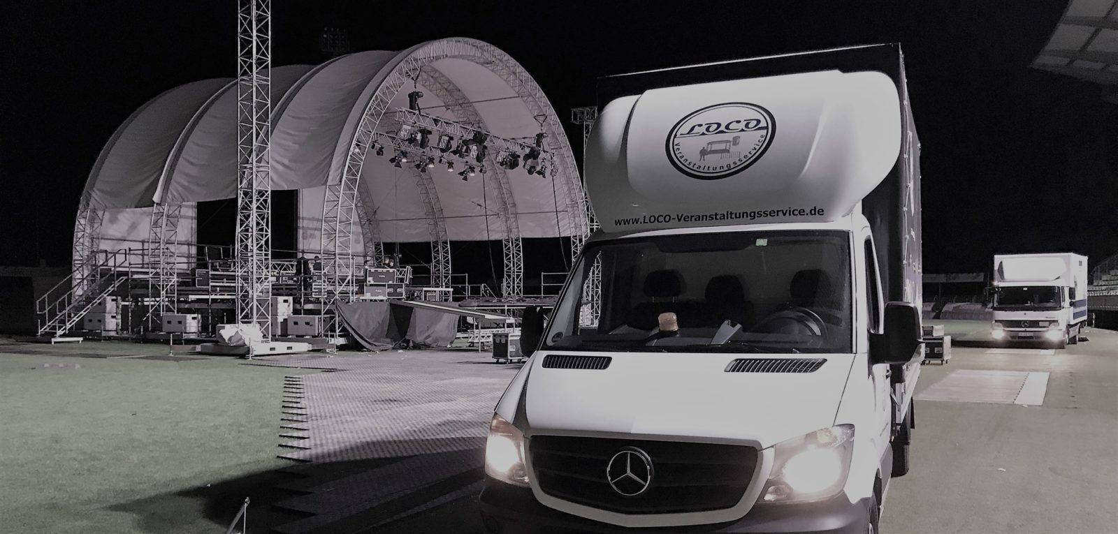 Veranstaltungsservice Veranstaltung Personaldienstleistung Stagehand Ausstattung Licht Ton Bühnenbau