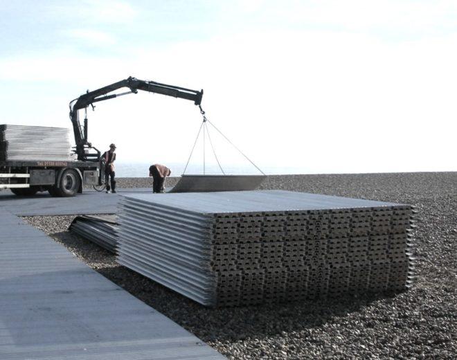 Alu Panel Aluminium Bodenschutz