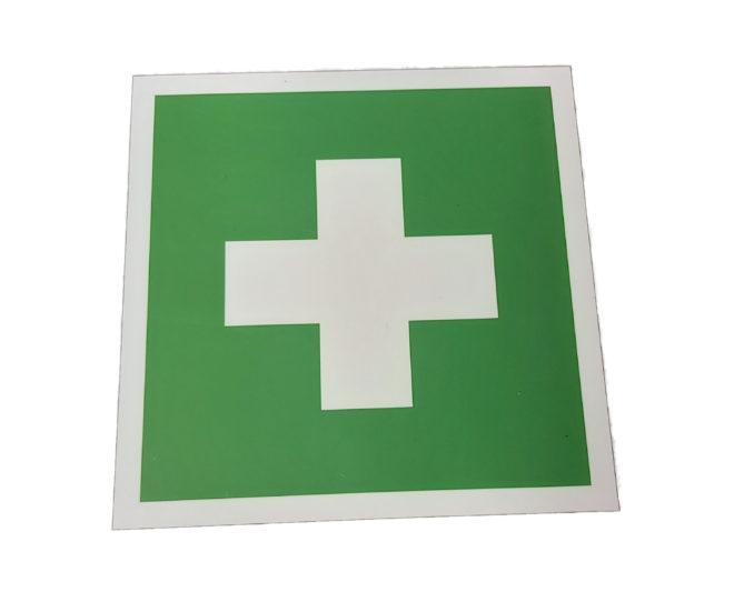 Erste Hilfe Hinweisschild Personenleitsystem