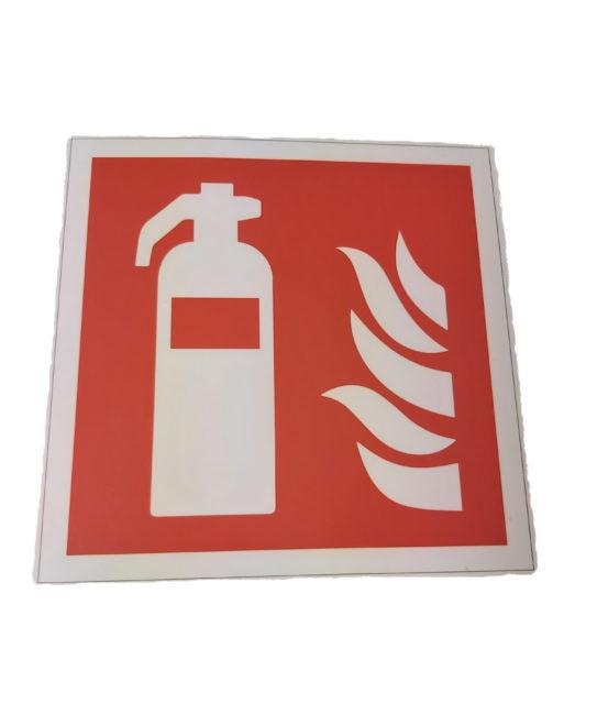 Feuerlöscher Hinweisschild