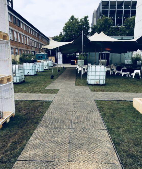 Remopla Bodenschutz Bodenschutzsystem Veranstaltung Event Konzert Open Air