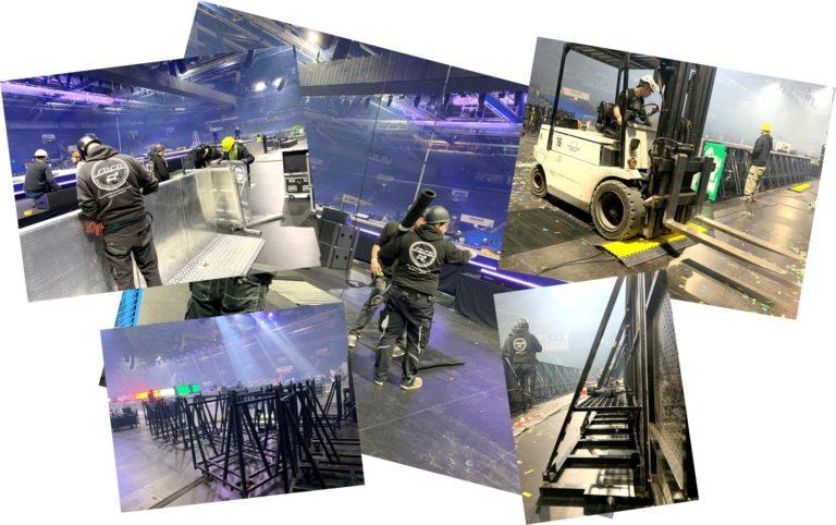 LOCO Crewservice Stagehand Stuttgart Eventhand Stuttgart Eventhelfer Karlsruhe Stagehand